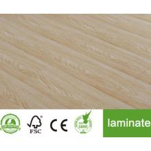 Suelo de madera maciza Piso de madera dura de roble preacabado