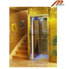 Commical Villa Elevator with Glass Cabin