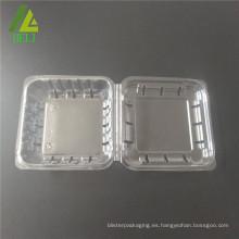 Embalaje biodegradable de frutas de plástico