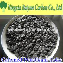 98% kalzinierter Petroleumkoks-Kohlenstoff-Zusatz für Stahl