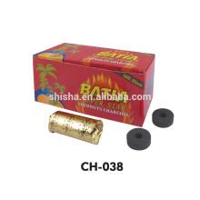 Venda de alta qualidade carvão de shisha BATIA 35mm do cachimbo de água quente