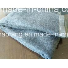 A lã de lã tecida 50% de lã / 50% misturou a cobertura do refugiado da emergência
