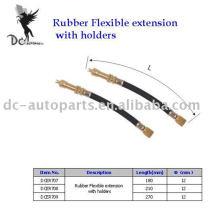 Extension flexible en caoutchouc