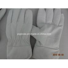 Winter Handschuh-Weiß Kuh Leder Handschuh-Handwerk Handschuh-Handschuh