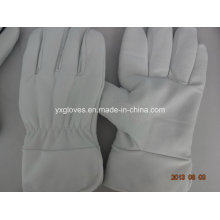 Winter Glove-White Cow Leather Glove-Utility Glove-Work Glove