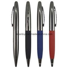 Gun Black Frosted Metal Ballpoint Pen for Advertising (LT-C608)