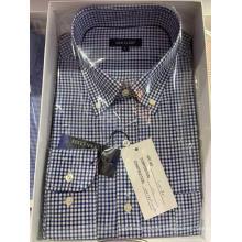 Baumwollhemd Slim Fit Freizeithemd für Männer