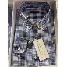 Camisa de algodón Slim Fit Camisa casual para hombre