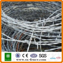 ISO9001 Galv Barbed Wire
