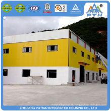Casa preparada tipo C purlin de bajo costo proyectos de construcción de escuelas