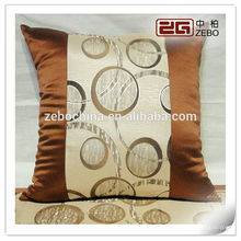 luxury hotel decorative bed throw and cushion