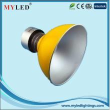 Fábrica ip44 profissional conduziu a luz elevada da baía 50watt 3500lm alumínio brilhante conduziu a luz elevada da baía