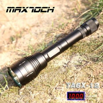 Maxtoch-TA6X-12-1000 Lumen Aluminium LED Cree Jagd Licht