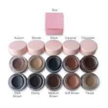 Waterproof Eyebrow Enhancer Custom Vegan Eyebrow Makeup Private Label Fast Dry Best Pink Brow Pomade