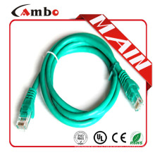 Китай завод UL список CMP / CMR завод 26awg скрученный голый coper 7 * 0.2mm cat6 patch cable bulk