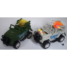 Light up Military Jeep Toy Candy (120401)
