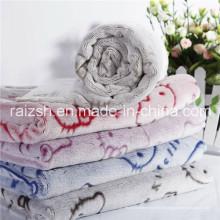 Cobertores Esculpidos Dimensional De Veludo De Flanela De Vison De Cashmere