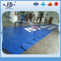 Customized made 100% polyester pvc tarpaulin for truck side container