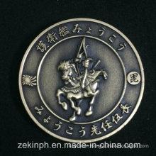 Custom Japan Antique Gold Challenge Coin