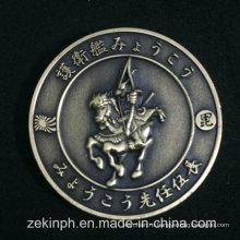 Таможня Японии Античное Золото Вызов Монета