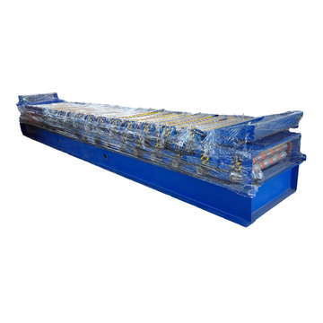 Menjual Profiled Steel Sheet Concrete Slab Plate Floor Decking Panel Roll Forming Machine Dengan Sistem Kawalan PLC