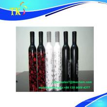 venta al por mayor 2017 ventas calientes botella de vino paraguas / mejor regalo / alta calidad bajo precio / personalizar