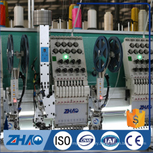 12+12 heads cording and sequin device with flat embroidery machine