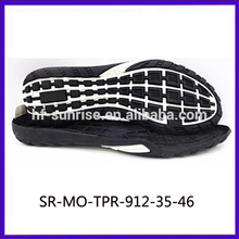 mens flat sole shoes tpr sole for footwear new black tpr sole