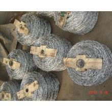 Esgrima de malla de alambre de púas (embalaje de madera)