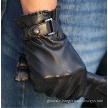 men driving leather products of gloves in China