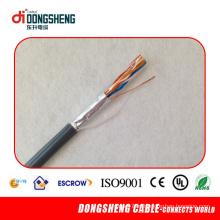 Bare Copper 24AWG Cat5e SFTP cabo de dados / cabo de rede / cabo LAN