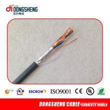 Bare Copper 24AWG Cat5e SFTP Кабель для передачи данных / Сетевой кабель / LAN-кабель