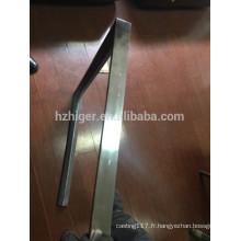Pied de table en aluminium moulé