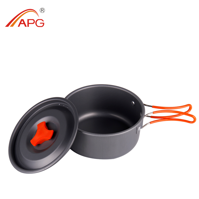 APG Camping Portable Aluminum Cookware Pans