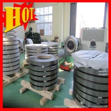 Titanio y láminas de aleación de titanio en bobinas