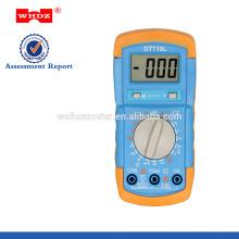 multimètre numérique DT710L de bas prix avec le testeur de batterie de contre-jour
