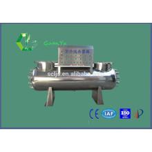 Productos del agua Househould acero inoxidable esterilizador UV filtro antibacteriano de agua