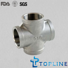 Stainless Steel Threaded Cross (female)
