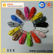 No5 Bunte Auto Lock Zipper Slider