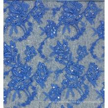 Оптовые бисером кружева ткани высокое качество кружева вышивка со стразами нет.CAC411B