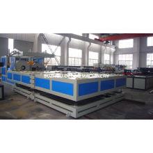 Máquina de zócalo de tubo de plástico PVC UPVC