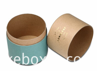 Cylinder and round paper box for cosmetics packaging