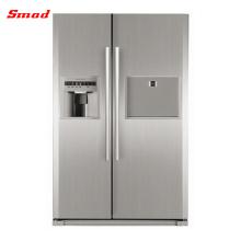 Refrigerador vertical de alta calidad del helado de las puertas dobles