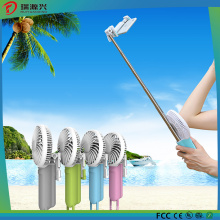 New Selfie Stick with Portable Fan and Mobile Power Bank