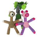 interactive pet puppy chew soft animal plush toys