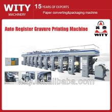 2015 Nova máquina de impressão de gravura automática Register