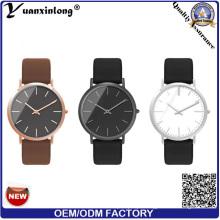 Yxl-014 Super Fino Caixa De Aço Estilo Japão Mov′t Relógio De Aço Inoxidável Elegância Moda Relógios De Pulso para Mulheres Dos Homens