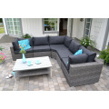 Garden Wicker Patio Sofa Lounge Set Rattan Outdoor Furniture