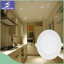 High Quality Aluminum 3W 6W Slim LED Panel Light