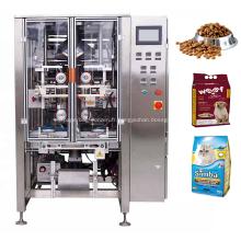 730 Machine d'emballage d'aliments pour animaux de compagnie avec sac à joint quadruple